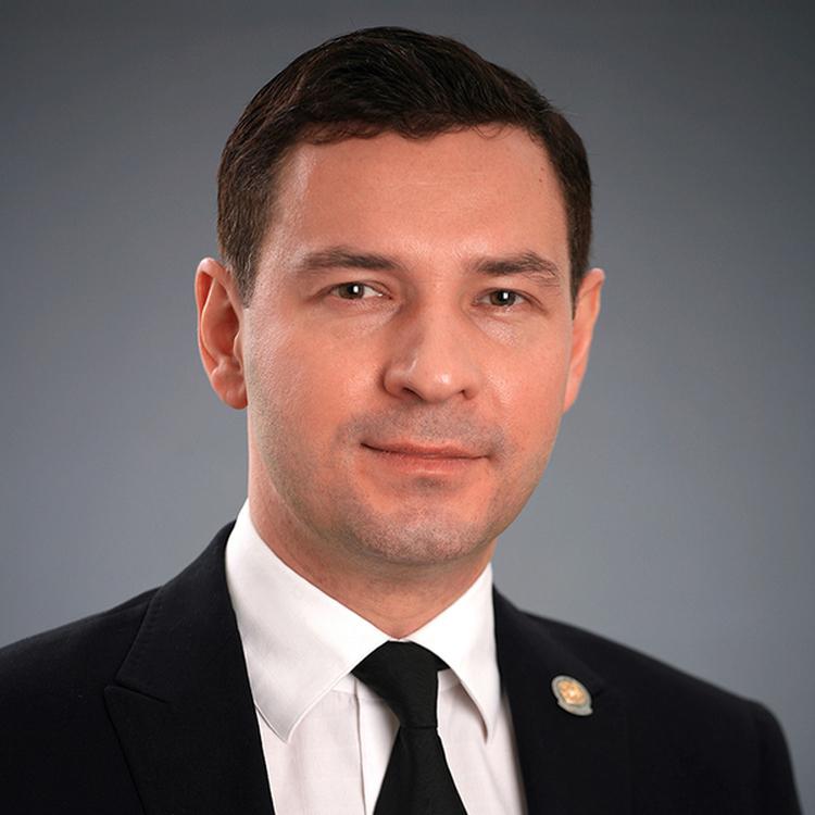 Леонов Владимир Александрович, министр спорта Республики Татарстан