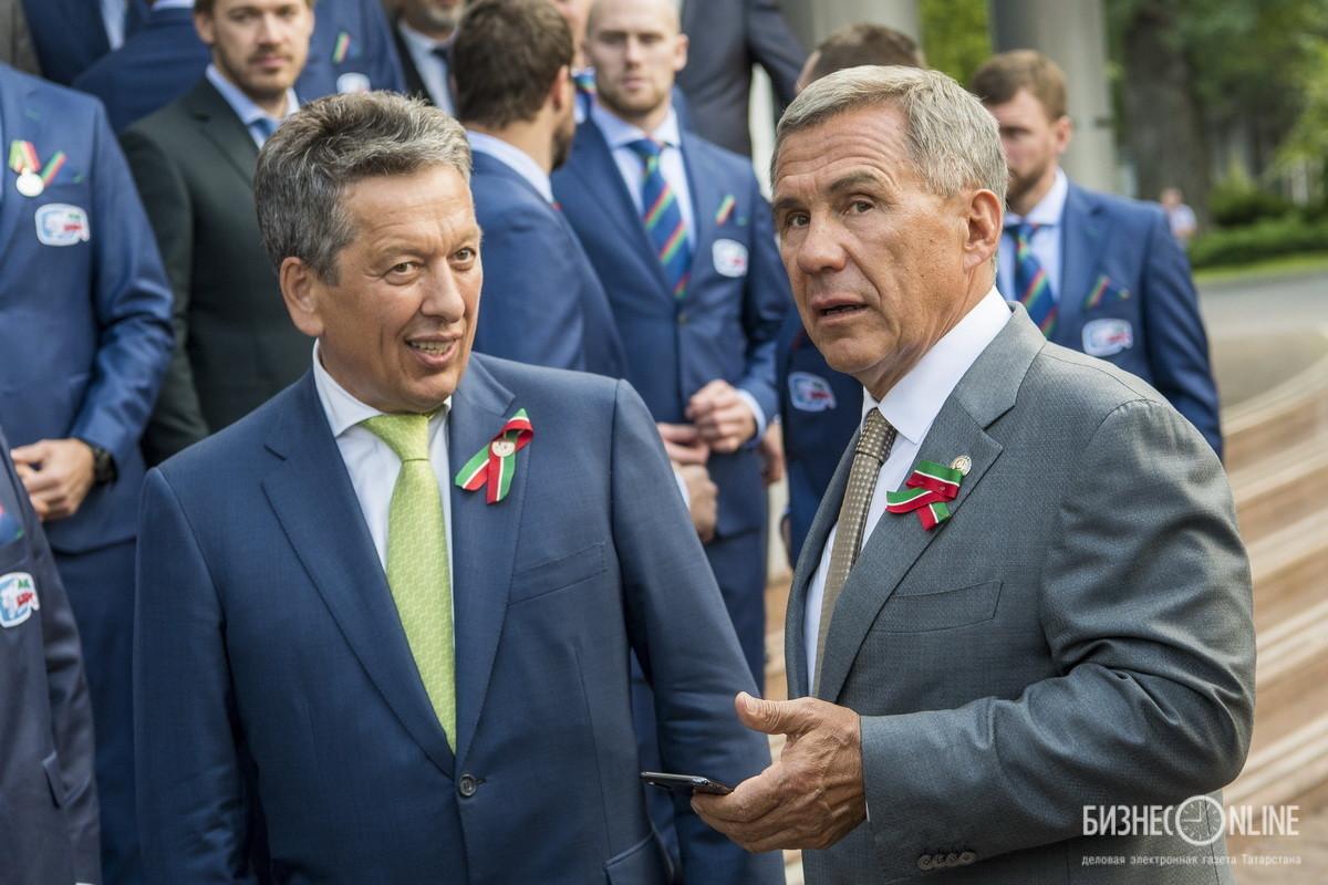 Наиль Маганов и Рустам Минниханов