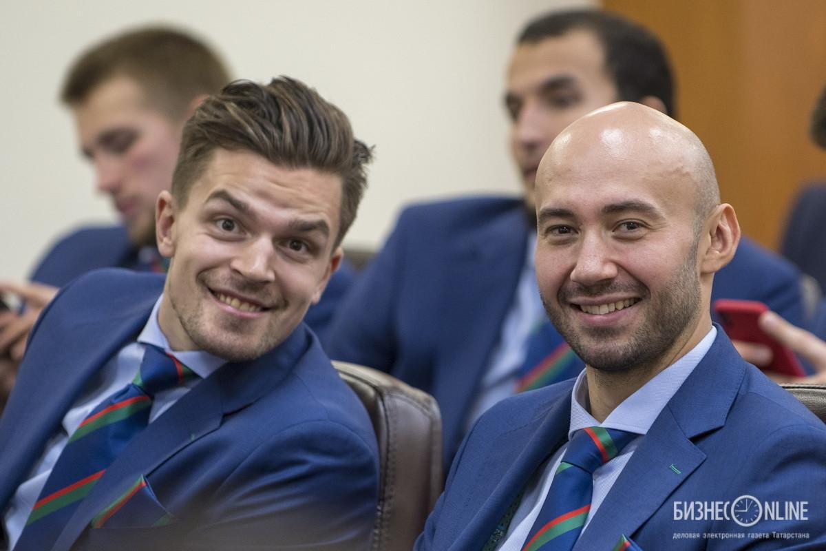 Антон Ландер и Рафаэль Батыршин