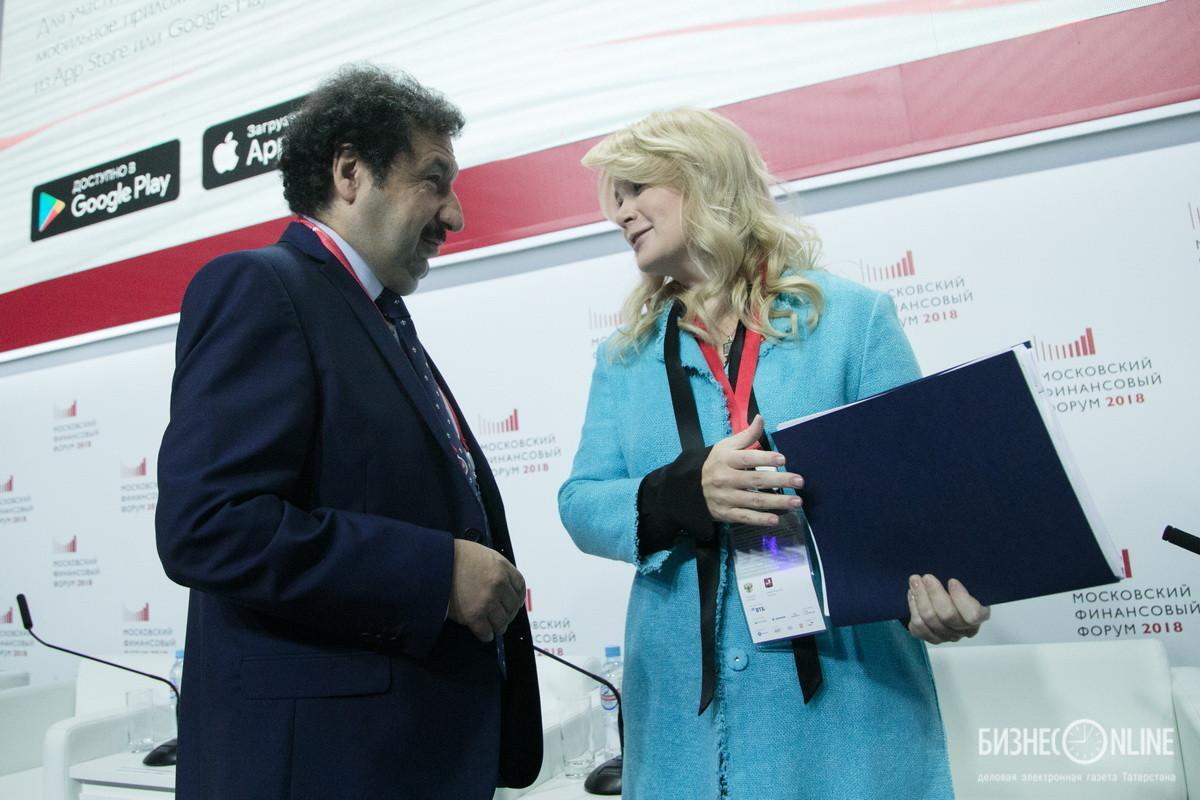 Владимир Мау и Наталья Сергунина