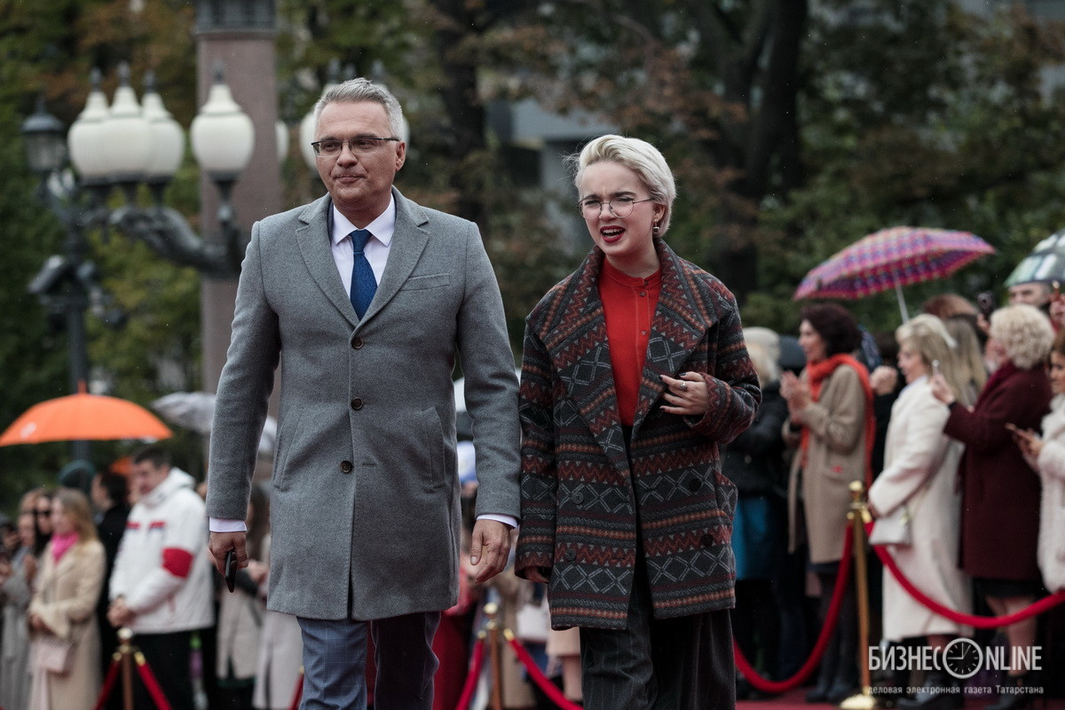 Роман Будников с дочерью Александрой
