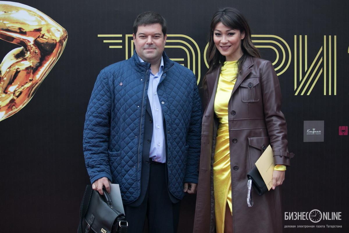 Марина Ким и Сергей Бабаев