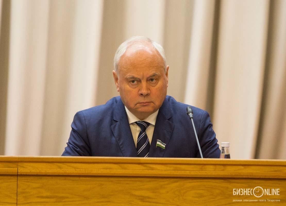 Константин Толкачев - председатель Государственного Собрания — Курултая Республики Башкортостан