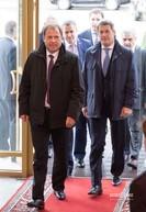Игорь Комаров (слева) - полпред президента РФ в Приволжском Федеральном округе