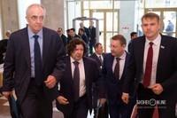 Андрей Шишкин (второй слева) - президент, председатель правления ПАО АНК «Башнефть»