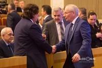 Рустэм Марданов (справа) - премьер-министр правительства Башкортостана