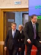 Игорь Комаров (справа) - полпред президента РФ в Приволжском Федеральном округе