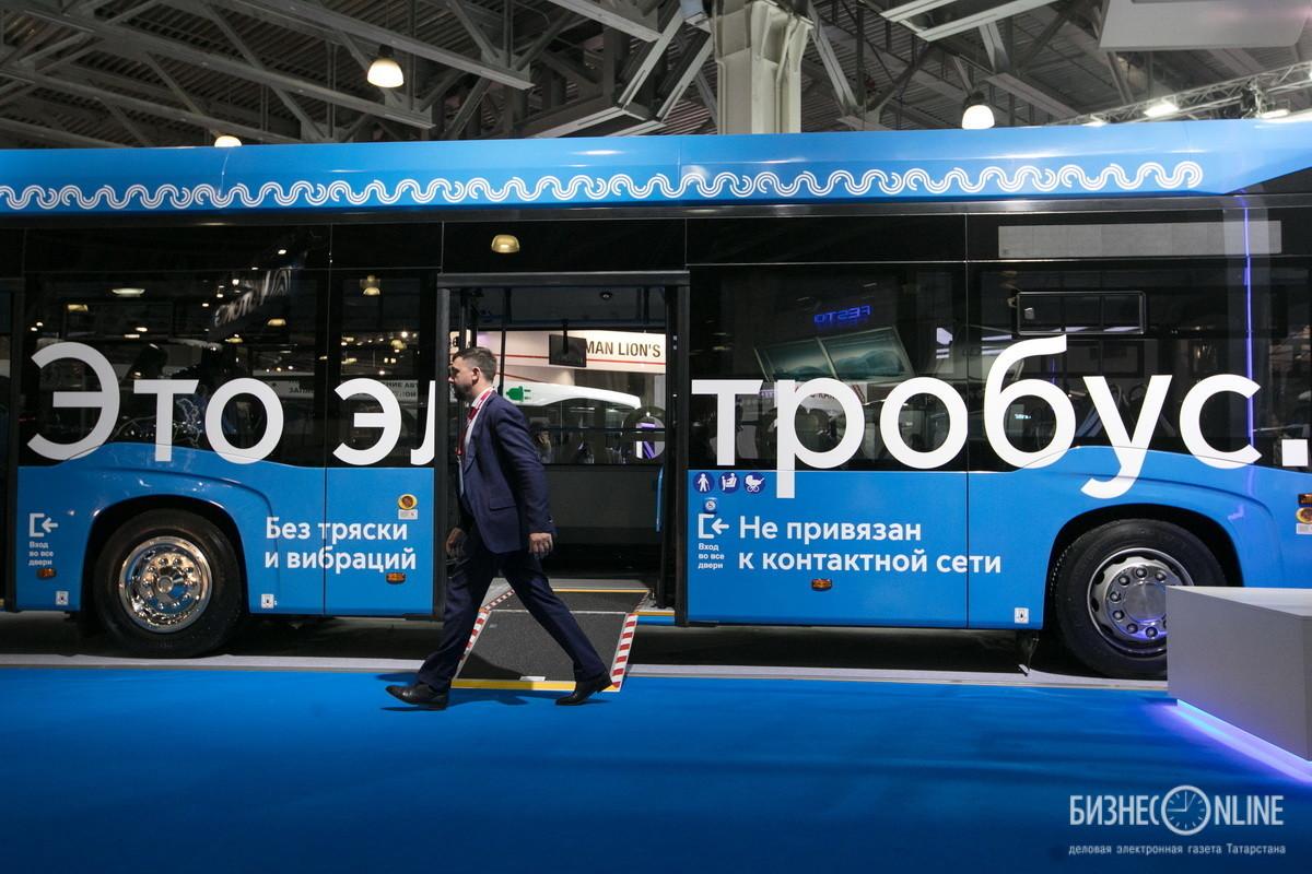 Электробус КАМАЗ