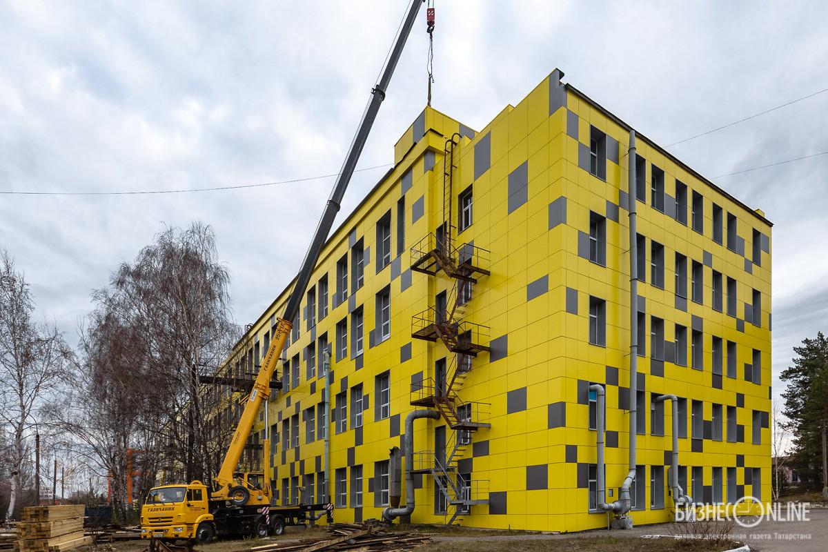 70-летние здания получают новую жизнь