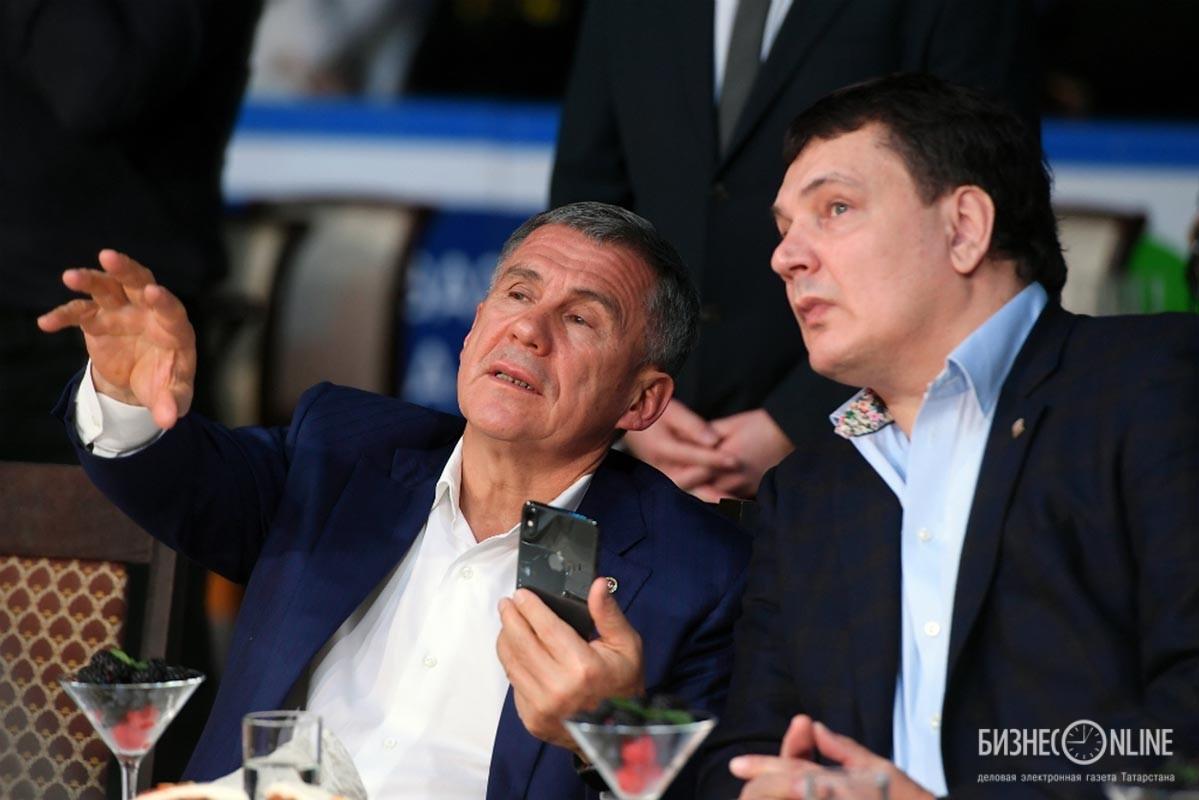 Рустам Минниханов и Андрей Святов
