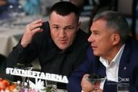 Денис Лебедев и Рустам Минниханов