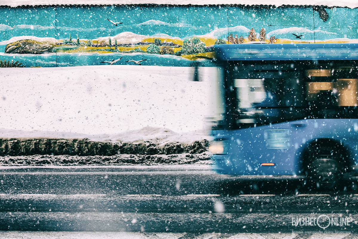 Январь. Зима в Москве. Алексей Белкин