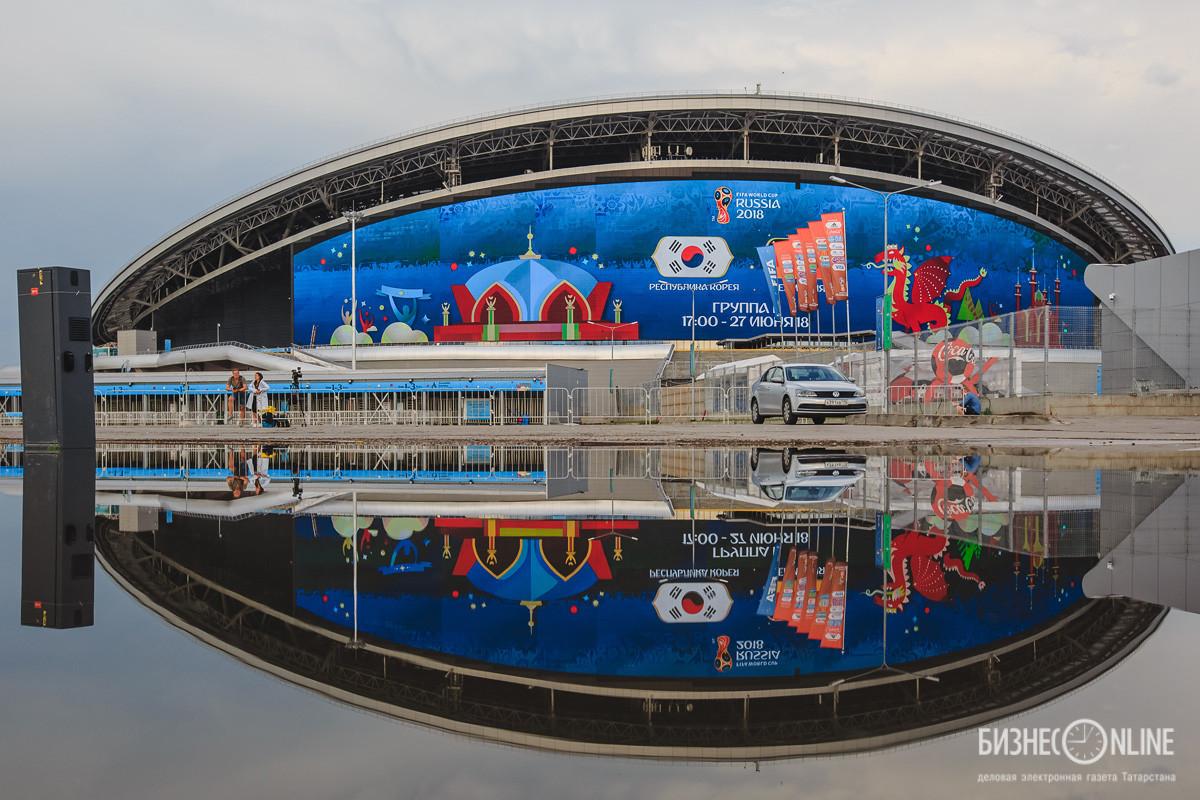 Июнь. Стадион «Казань Арена». Сергей Елагин