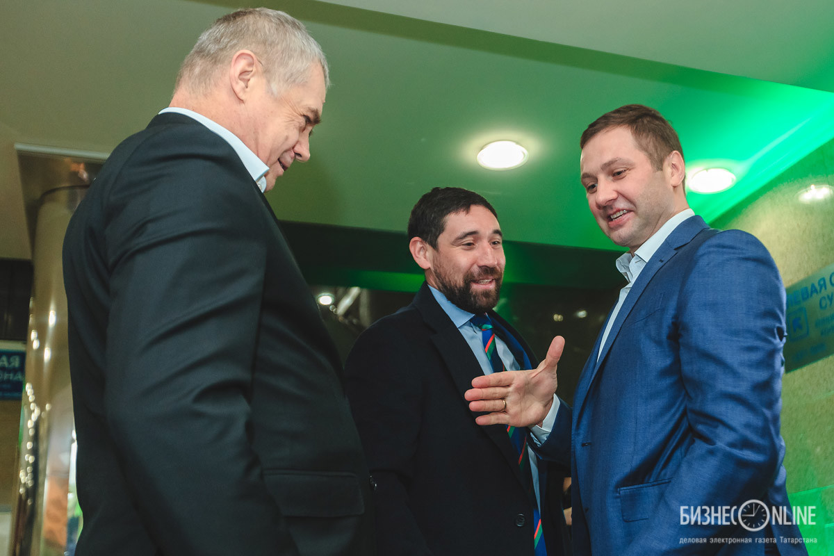 Александр Медведев, Данис Зарипов и Алексей Морозов