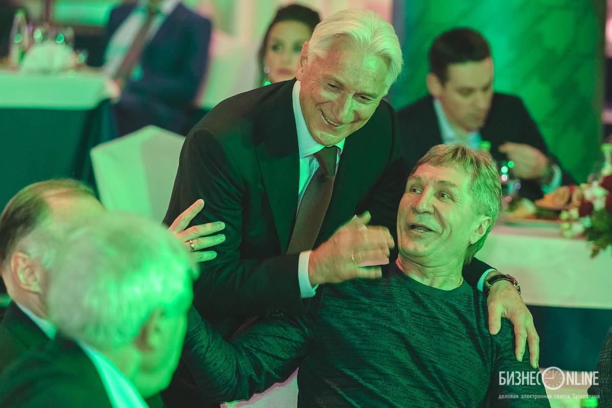 Зинэтула Билялетдинов и Сергей Шепелев