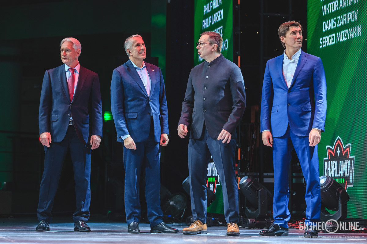 Зинэтула Билялетдинов, Боб Хартли, Илья Воробьев и Игорь Никитин