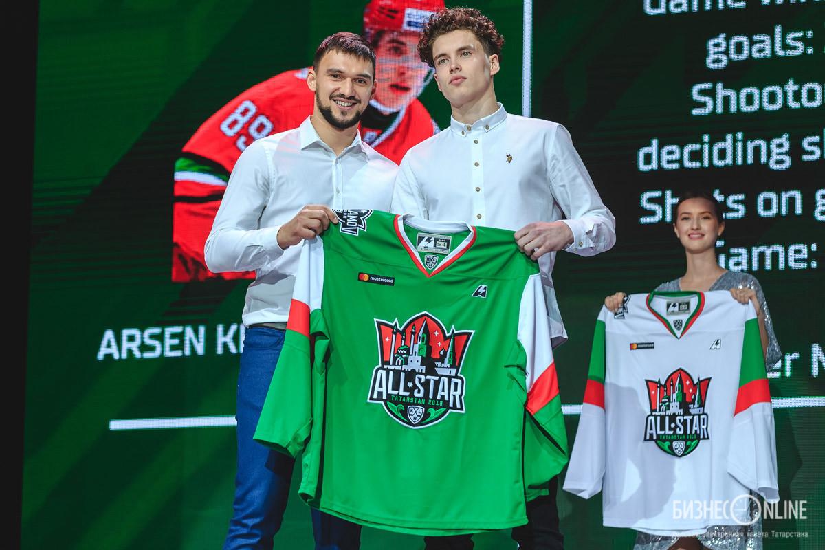 Ян Коварж и Арсен Хисамутдинов