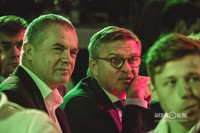 Александр Медведев и Рене Фазель