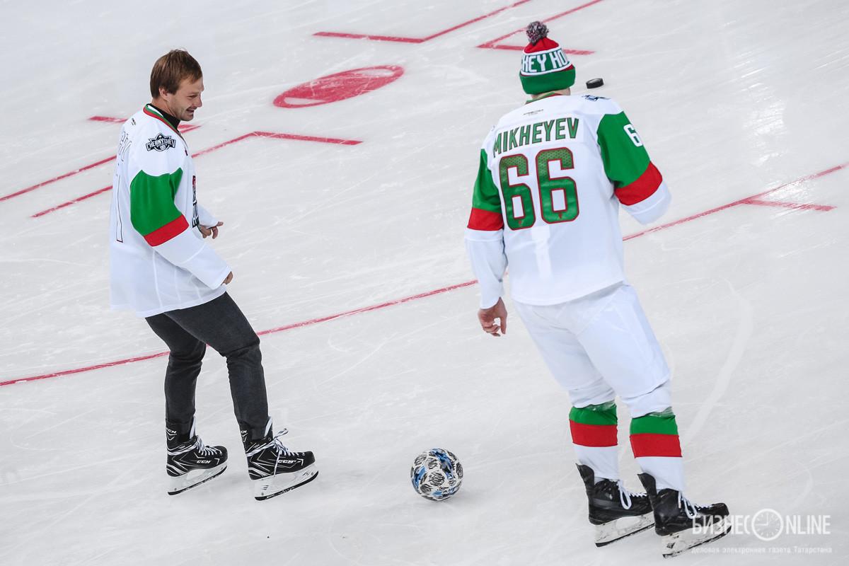 Дмитрий Сычев и Илья Михеев