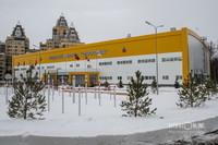 И заходим в новый Ледовый дворец – его введут в строй 25 февраля