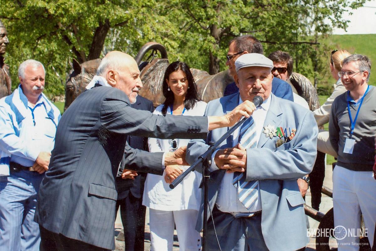 Открытие памятника благотворителю в г.Казани