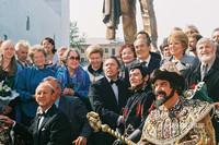 Открытие памятника Федору Шаляпину на ул.Баумана (1999 год)