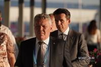 Рафис Бурганов (слева)