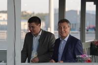 Юсуп Якубов (справа)