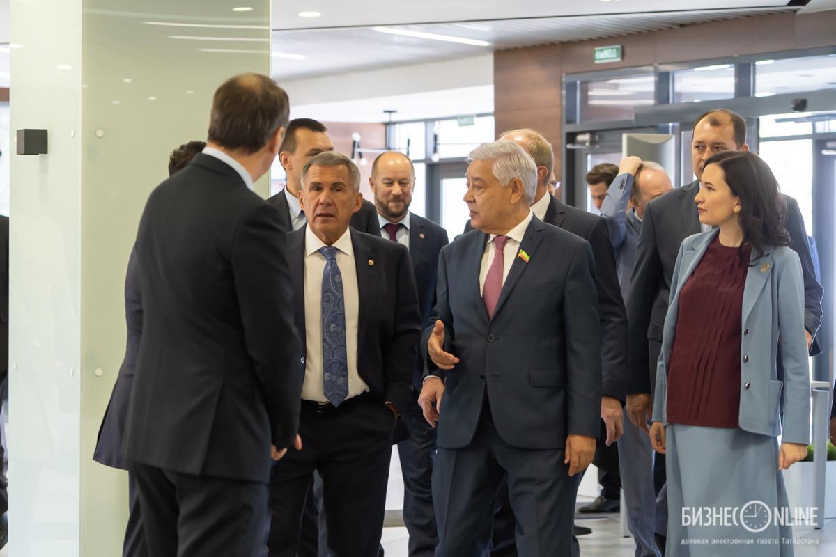 Рустам Минниханов, Фарид Мухаметшин, Альбина Насырова