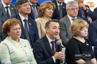 Римма Ратникова, Раиль Шамсутдинов, Светлана Захарова (слева-направо)