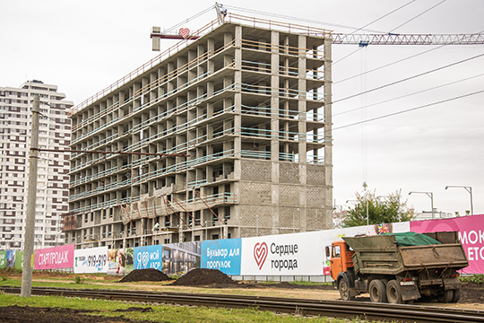 ЖК «Сердце города».Девелопер здесь также заявляет, что ценовая политика будет меняться по мере роста спроса на квартиры