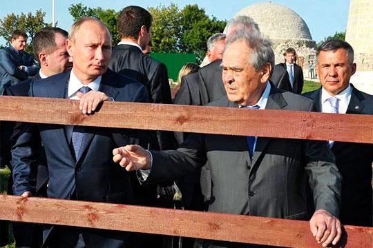 Минтимер Шаймиев: «Владимир Владимирович мне этот вопрос задавал: «Как с деньгами быть?»