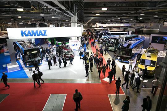 Ведущие производители пассажирского транспорта второй раз собрались вМоскве наавтобусный салон BusWorld Russia 2018