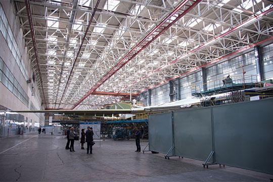 Выпускать машину будут наКазанском авиазаводе— филиале ПАО «Туполев» (КАЗ)