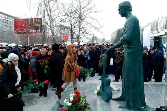 Памятник Владимиру Высоцкому работы Михаила Шемякина открылся в Самаре