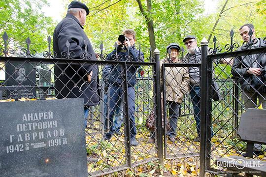 Каждый год 28 сентября на Арское кладбище обязательно приходят журналисты того «гавриловского призыва»