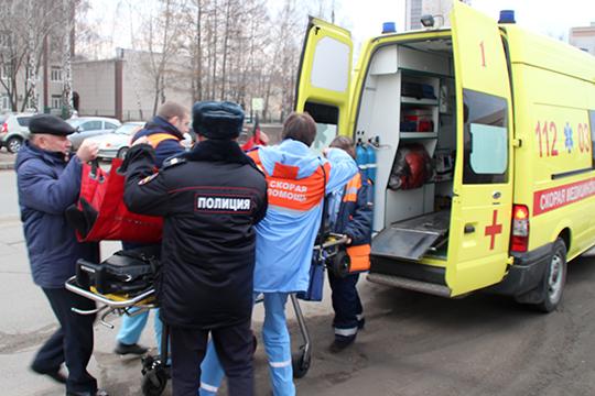 Вновогодние праздники скорая медпомощь потребовалась порядка 27тыс. татарстанцам