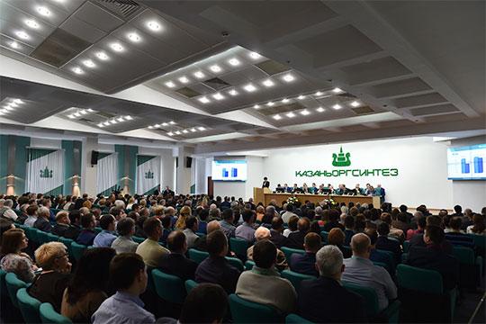 Чистая прибыль «Казаньоргсинтеза» установила рекорд, на 600 млн превысив достижение 2015 года