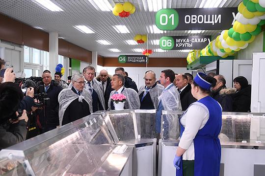 6февраляРустам Миннихановпосетил агропромышленный парк «Заинск», нонеувидел нибогатого ассортимента фермерской продукции, нитолп покупателей