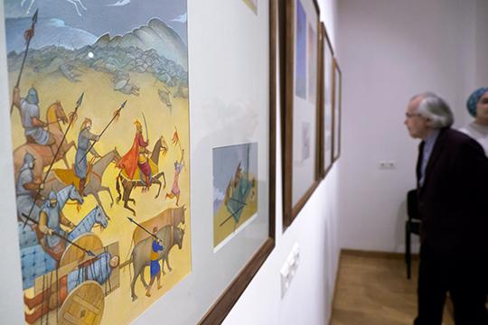 Более ста живописных играфических работ изсобраний фонда Марджани полтора месяца будут экспонироваться вгалерее «Хазинэ»