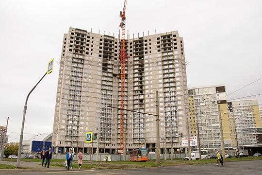 Только ЖК «Цезарь» в Набережных Челнах имеет максимальную для строящихся сейчас в РТ жилых домов высоту в 28 этажей