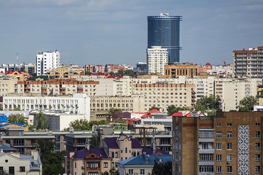 Движение вверх: всего за два года новостройки Татарстана подросли на четыре этажа