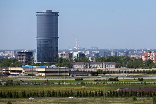 На сегодня самым высоким жилым зданием в Татарстане остается жилой комплекс «Лазурные небеса» от благополучно обанкротившегося «Союзшахтоосушения»