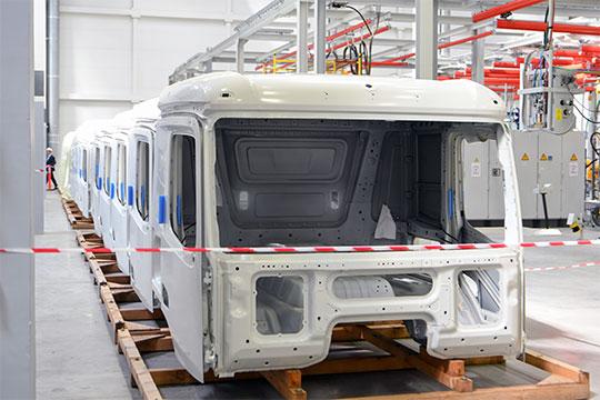 Мощность завода при работе в три смены составит 55 тыс. кабин в год