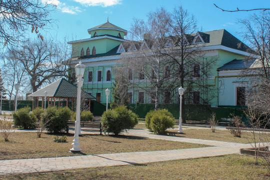 Резиденция Талгата Таджуддина
