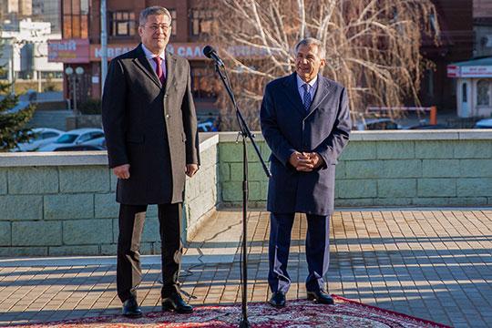 Радий Хабиров: «Теперь у нас с вами есть новый символ дружбы башкирского и татарского народов»