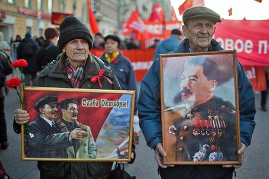 «Современность посылает тревожные сигналы. Общественное внимание вфигуре Сталина— один изтаких сигналов»