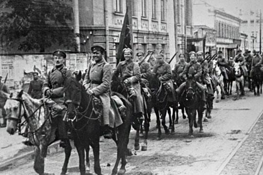«Красная Пасха», татарская бригада идеревня вБуинском уезде против Омского правителя