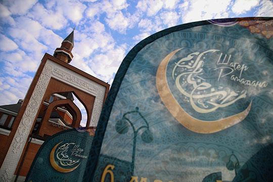 В Москве «Шатер Рамадана» по традиции расположился возле Мемориальной мечети на Поклонной горе