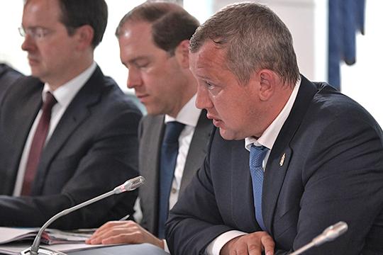 Ушел вотставку врио губернатора Астраханской областиСергей Морозов, бывший сотрудникФСО